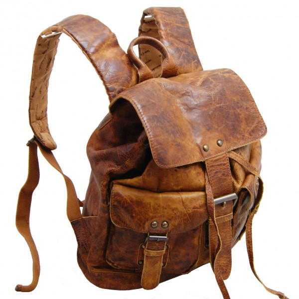 Backpacks of rugged-hide leather | BARON of MALTZAHN